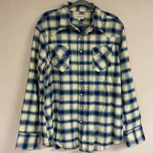 Plaid Flannel Top by Stetson